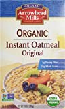 Arrowhead Mills Instant Oatmeal, Original Plain, 10 ct, 10 oz