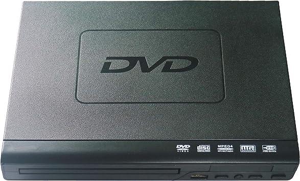 Reproductor de DVD para TV, Compacto VCD/CD/DVD/Reproductor de ...