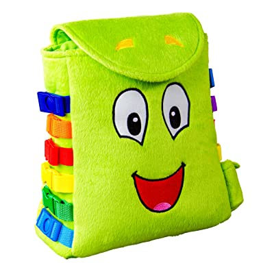 Buckle Toy - Buddy Backpack: Toys & Games