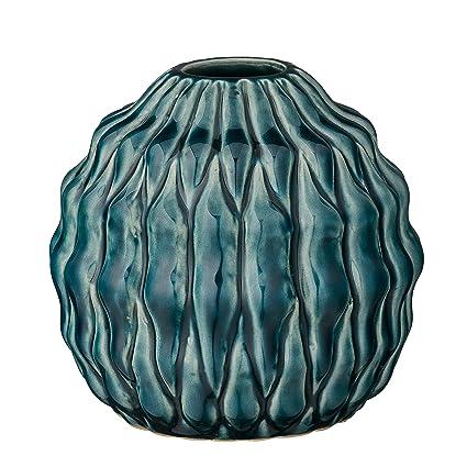 Amazon Stout Teal Ceramic Vase Home Kitchen