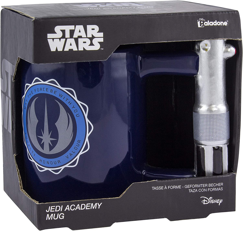 Regalo para todas las edades cer/ámica Paladone PP5057SW Jedi Academy Taza de t/é y caf/é con dise/ño de Star Wars