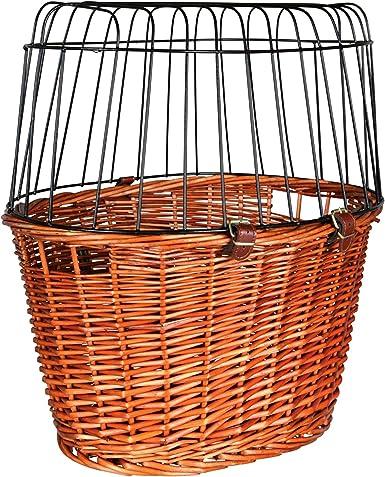 Trixie Cesta para Bicicleta con Rejilla, 44x 48x 33 cm: Amazon.es ...