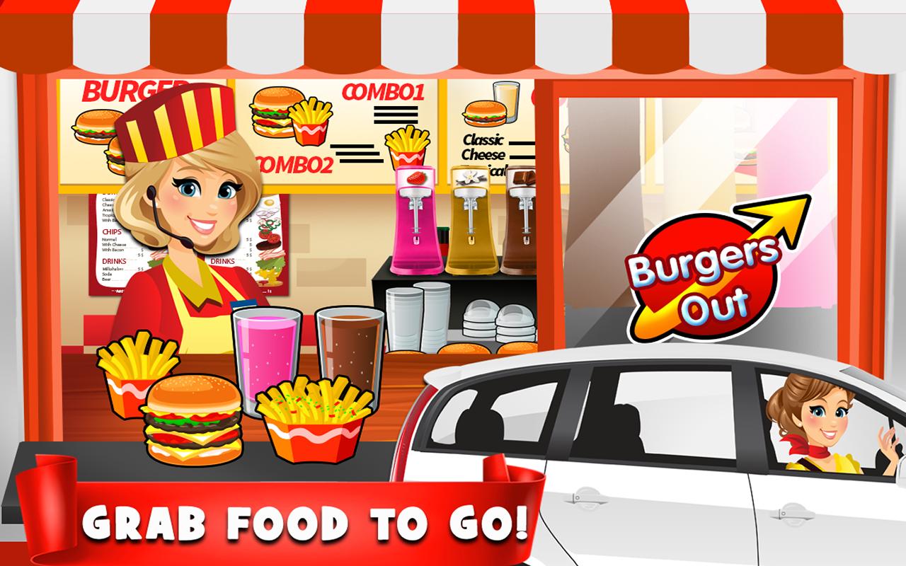 Amazon.com: Drive Thru Simulator - Kids Fast Food Games ...