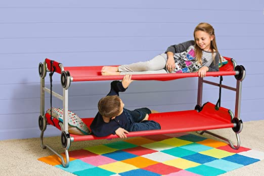 Disc-O-Bed portable Two Persons compact Cot