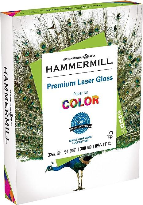 Amazon.com: Hammermill Paper, Premium Laser Gloss Paper ...