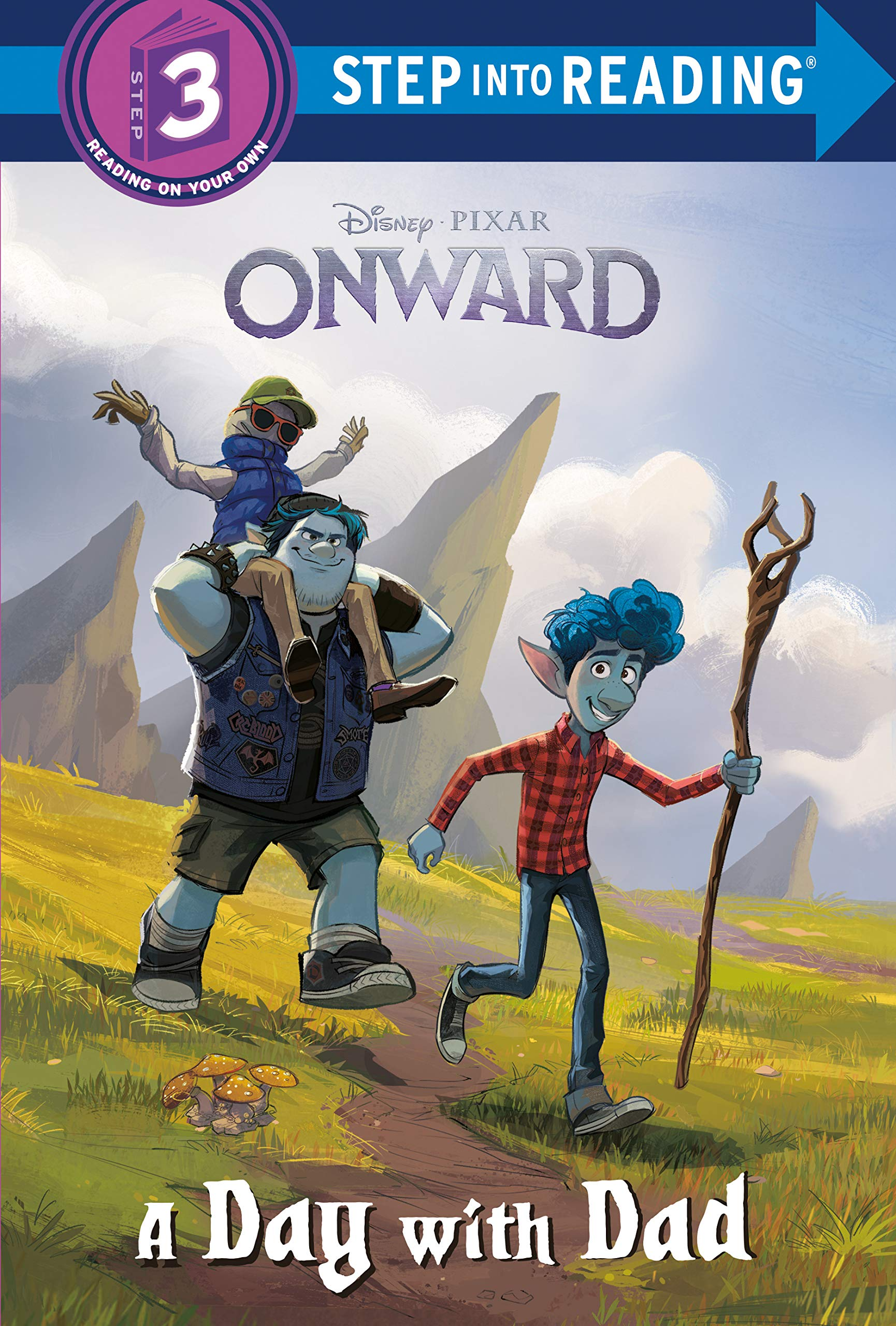 A Day with Dad (Disney/Pixar Onward) (Step into Reading): RH Disney, Disney Storybook Art Team: 9780736482899: Amazon.com: Books