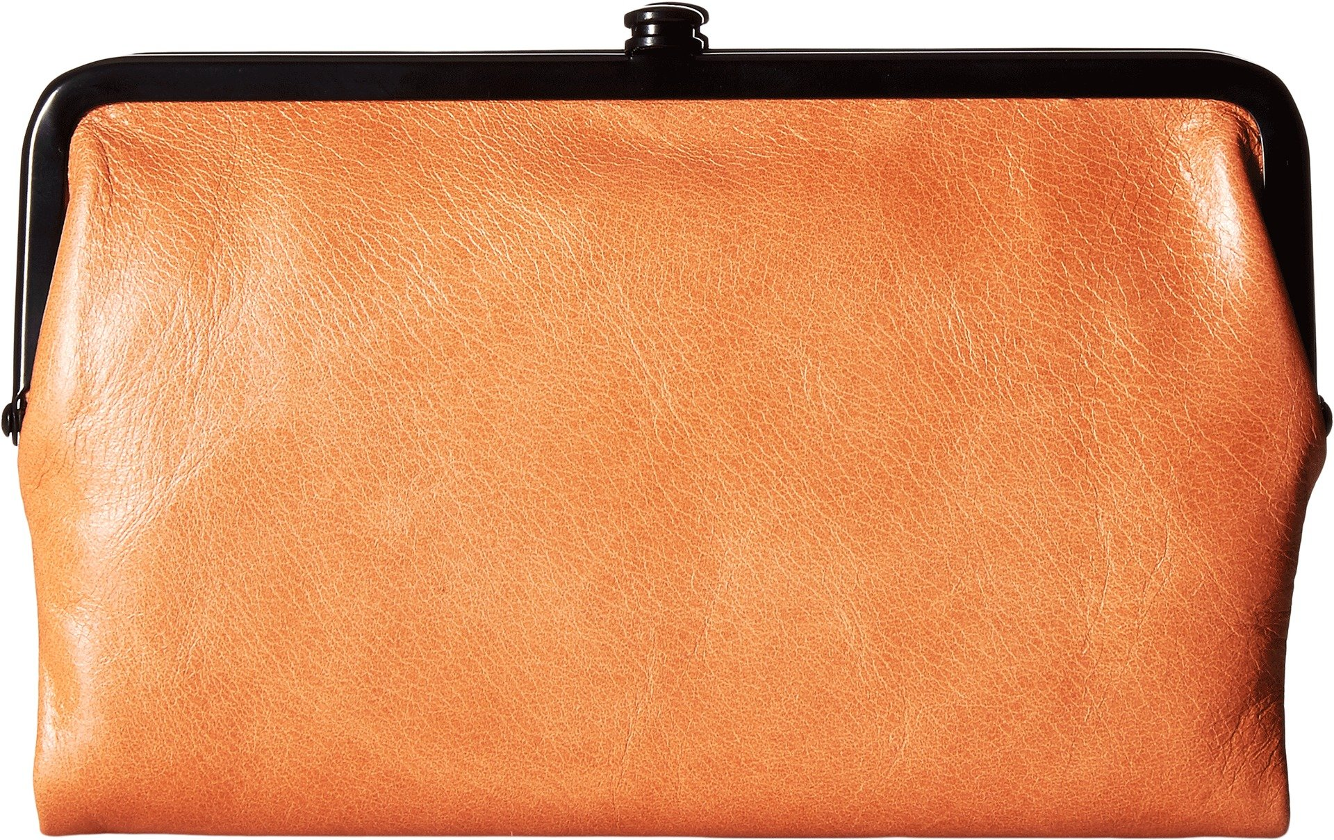 Hobo Womens Glory Vintage Leather Clutch Wallet (Persimmon)