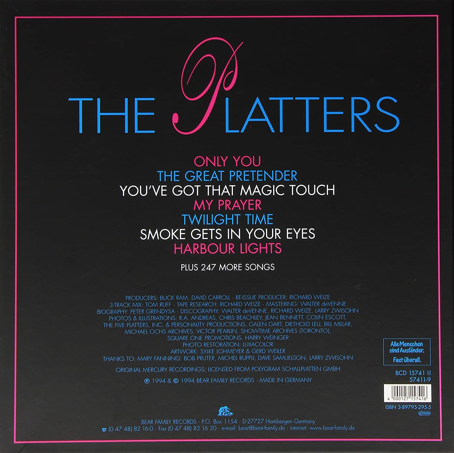 Four Platters and e Lovely Dish The Platters Amazon Musik
