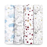 aden + anais Swaddle Blanket, Boutique Muslin Blankets for Girls & Boys, Baby Receiving Swaddles, Ideal Newborn & Infant…