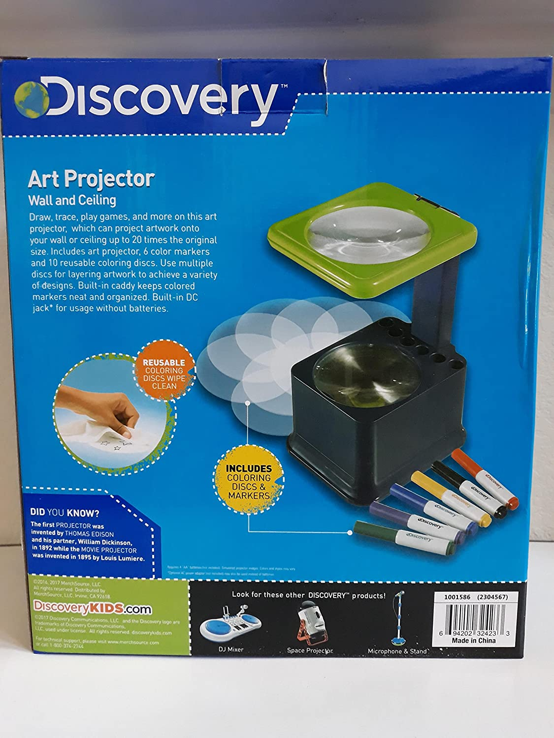 amazon com discovery art projector on walls and ceiling with