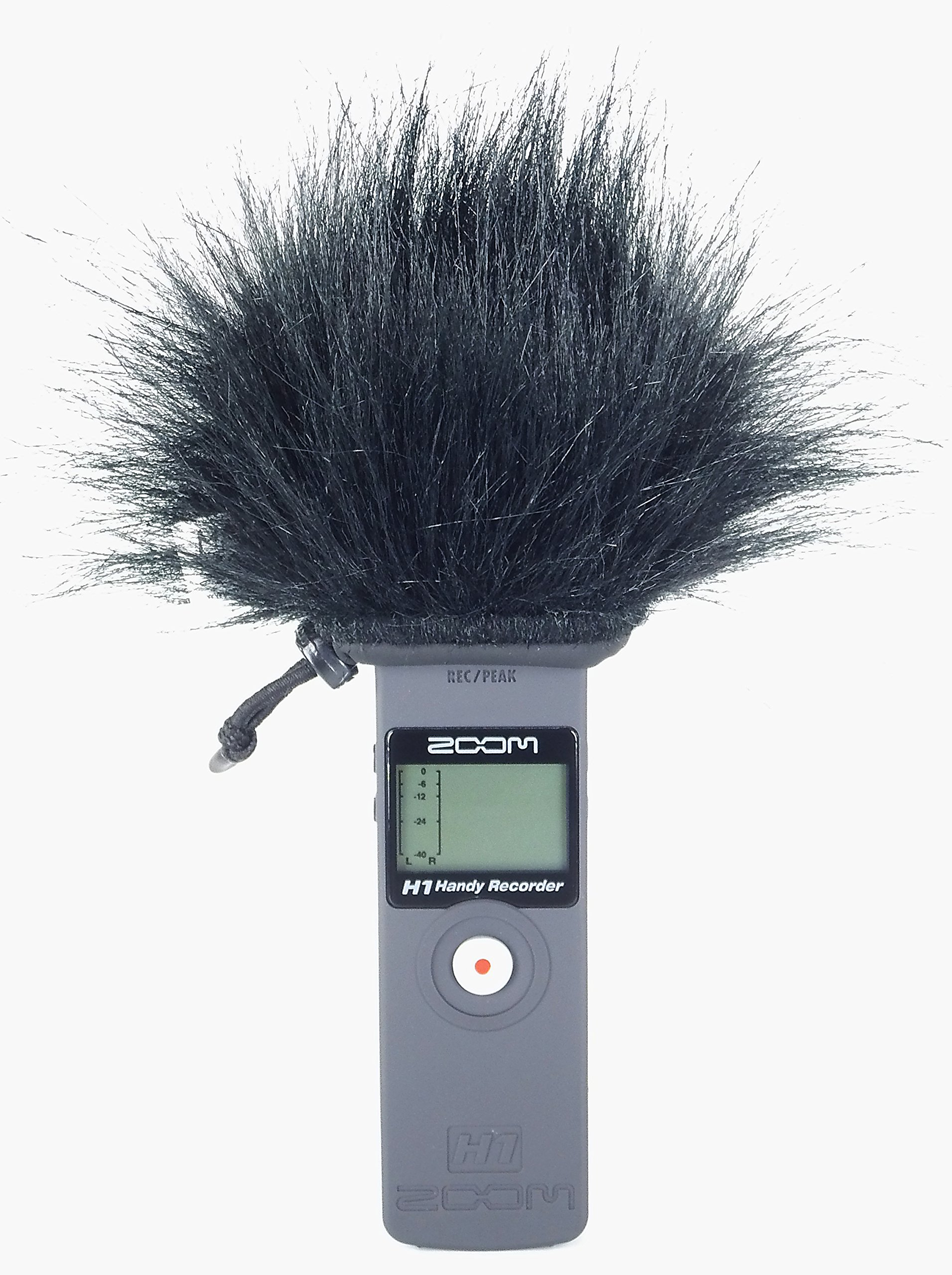 Master Sound Outdoor Windscreen Muff for recorder ZOOM H1 to protect the record from the wind, easy to put on hand recorders, made in the EU from certified, and reliable materials by Master Sound