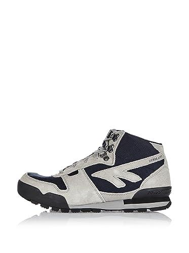Hi Tec Hightop Cut Sierra Lite Mid Sneaker Original Graumarine Men TFK1Jl3c
