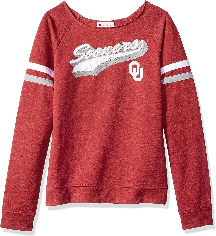 Champion NCAA womens Champion Ncaa Womens Long Sleeve Fall Fashion Sweatshirt