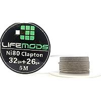 LifeMods carrete de Clapton Nichrome (Ni80) calibre AWG