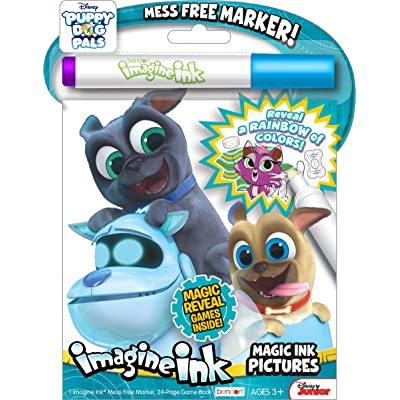 Bendon 42317 Puppy Dog Pals Imagine Ink Magic Ink Pictures, One Size, Multicolor: Toys & Games