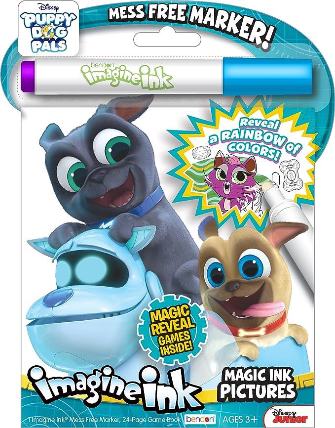 Bendon 42755 Lol Surprise Imagine Ink Magic Picture Game Activity Book Marker