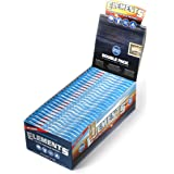 Elements Single Wide Rice Thin Cigarette Rolling Papers, Sugar Gum, 100 Count (Pack of 25)