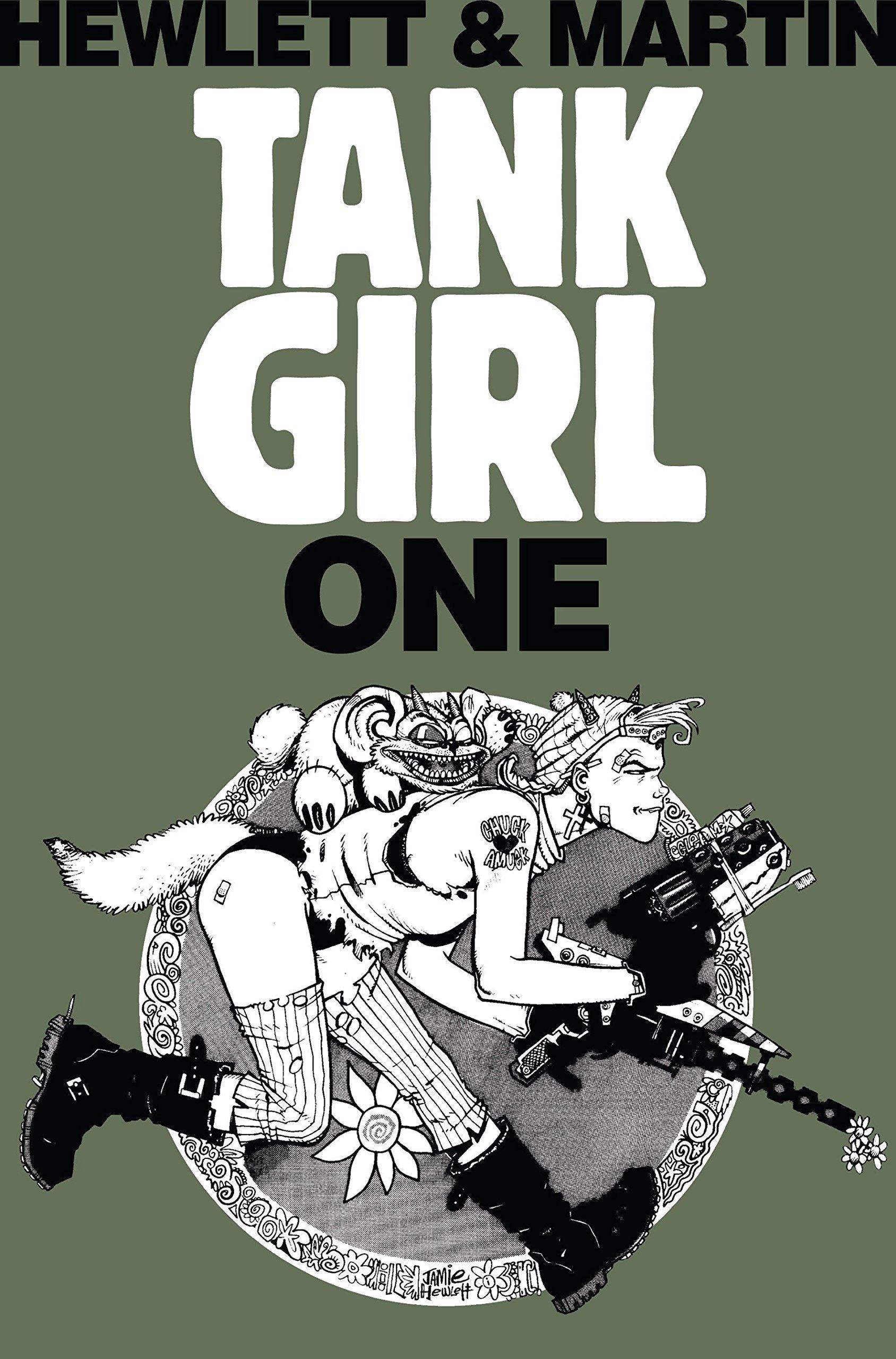 Tank Girl 1 (Remastered Edition) (Bk. 1) by Martin, Alan/ Hewlett, Jamie (ILT)