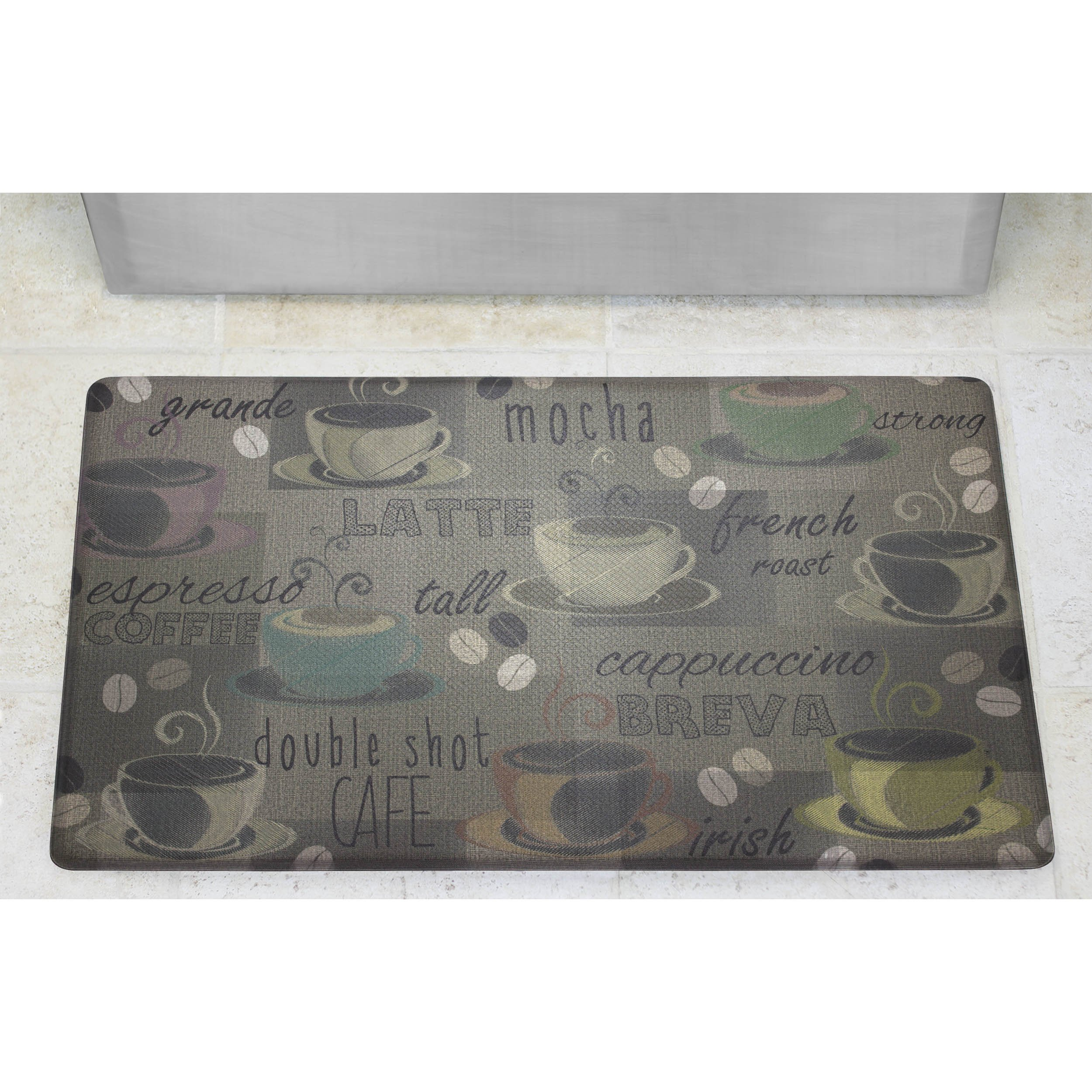 Chef Gear Roasted Coffee Anti-Fatigue Comfort Memory Foam Kitchen Chef Mat, 18 x 30 by Chef Gear (Image #3)