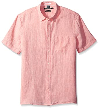 252162f8c Amazon.com: French Connection Men's Linen Chambray Regular: Clothing