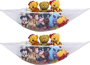Amazon Com 2 Pk Simplehouseware Stuffed Animal Jumbo Toy Storage