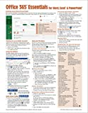 Microsoft 365 (Office 365) Essentials Quick Reference Guide - Windows Version (Cheat Sheet of Instructions, Tips…