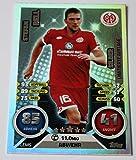 Topps Match Attax Bundesliga 2016/2017 - Stefan Bell 1.FSV Mainz 05 limitierte Karte SILBER
