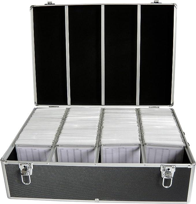 MediaRange BOX74 - Caja de Almacenamiento para CD/DVD (Espacio ...