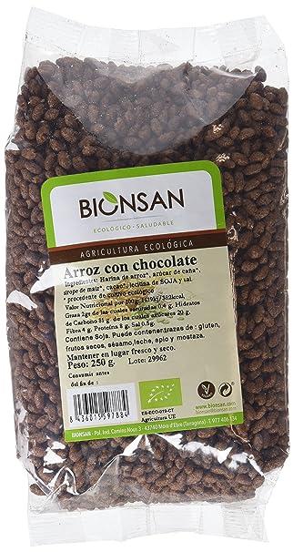 Bionsan Arroz con Chocolate - 6 Paquetes de 250 gr - Total: 1500 gr