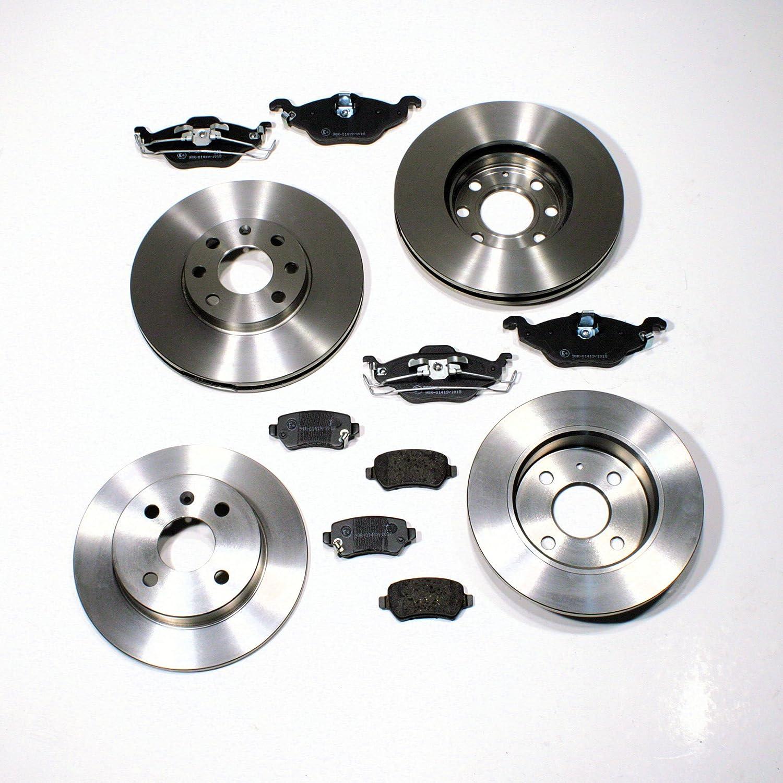 Bremsscheiben Bremsen für 4 Loch Bremsbeläge vorne Vorderachse Opel Astra H