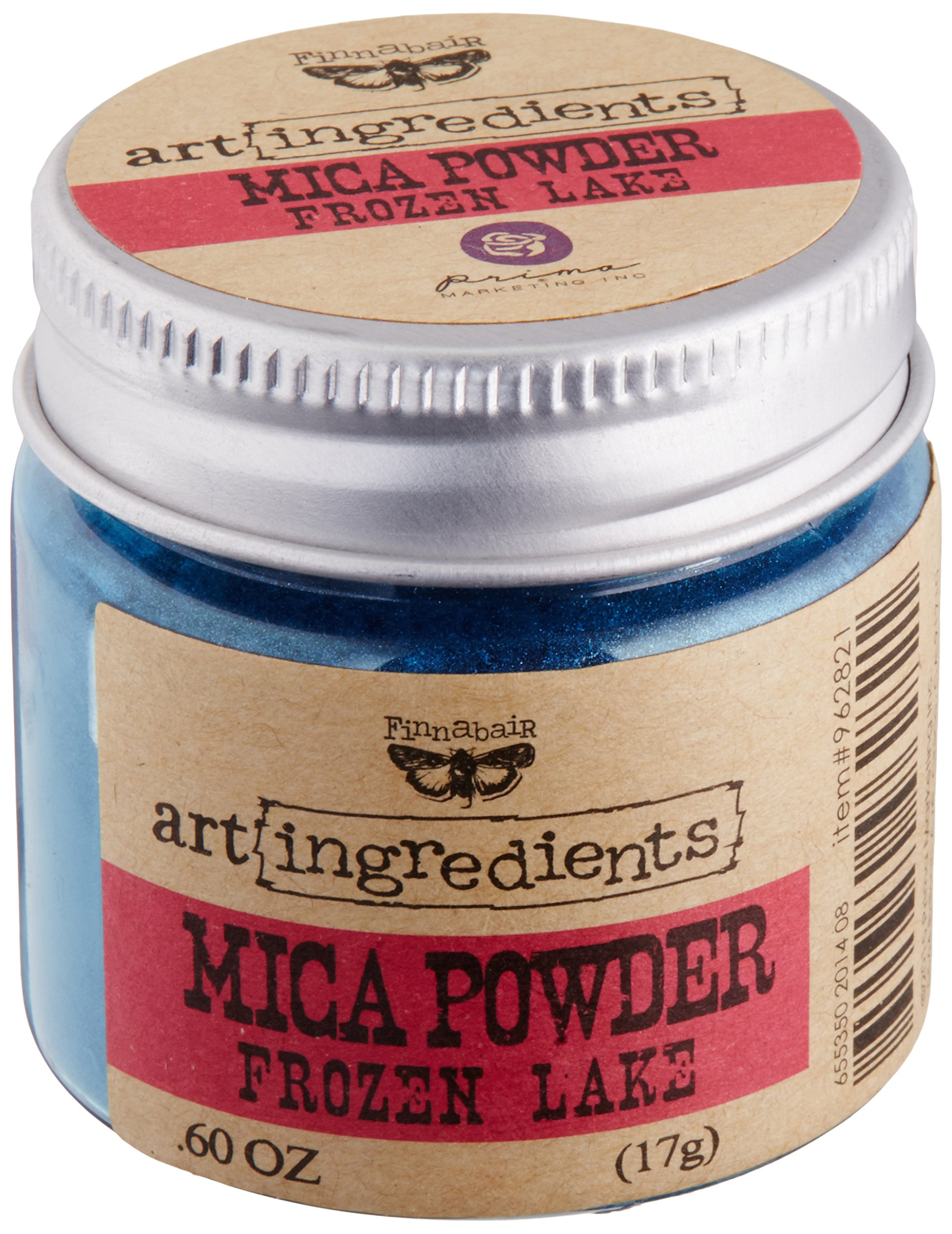 Prima Marketing Finnabair Art Ingredients Mica Powder, 0.6 oz, Frozen Lake