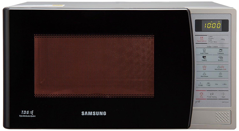 Samsung 20 L Grill Microwave Oven (GW731KD-S/XTL, Black)