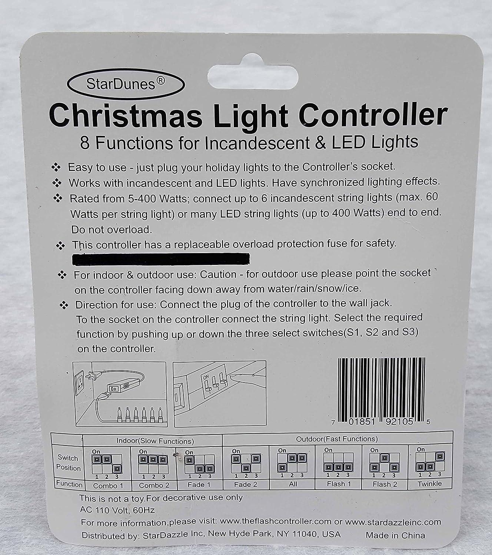 Amazon.com: StarDunes Christmas Light Controller: Home & Kitchen