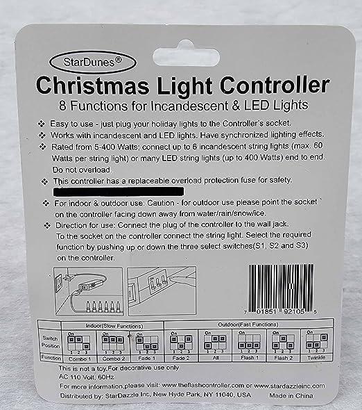 - Amazon.com: StarDunes Christmas Light Controller : Home & Kitchen