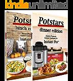 Potstars Lunch & Dinner Bundle: Electric Pressure Cooker Recipe Book for Instant Pot ®