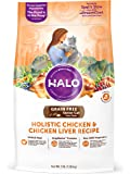 Halo Holistic Grain Free Natural Dry Cat Food for Senior Cats