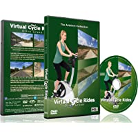 Balades en Vélo Virtuelles – Oliveraies pour exercices en intérieur, vélo d'appartement et tapis roulant.