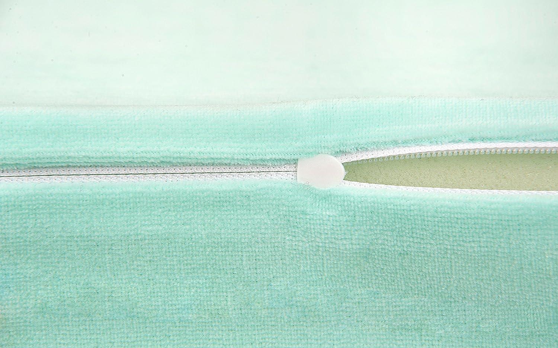 oval 2 x Funda de colch/ón antirreflujo para beb/é BestCare/® Funda:blanco Hecho en la UE tama/ño:2x 33x30 cm adecuado para la mayor/ía de modelos actuales