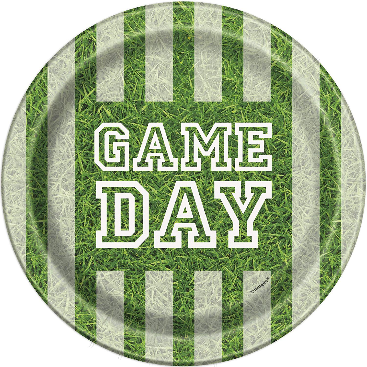 Unique Industries Football Game Day Party Supplies Pack for 8 Guests With Lunch /& Dessert Plates Lunch Napkins and Cups