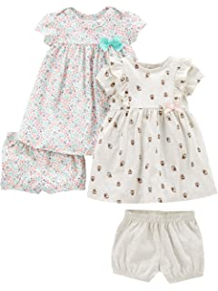 4c67d4854b4f Simple Joys by Carter s Baby and Toddler Girls  2-Pack Short-Sleeve and