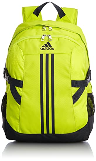 c29a11b90e adidas Power Ii Polyester Backpack (Yellow Grey Black)  Amazon.in  Sports