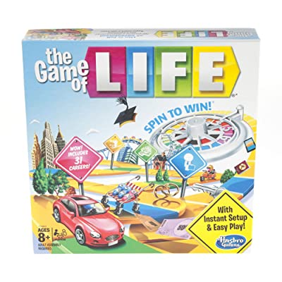 Hasbro Gaming The Game of Life Board Game Ages 8 & Up ( Exclusive): Toys & Games