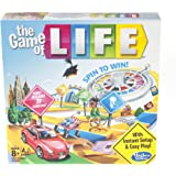 The Game of Life Board Game Ages 8 & Up (Amazon Exclusive)