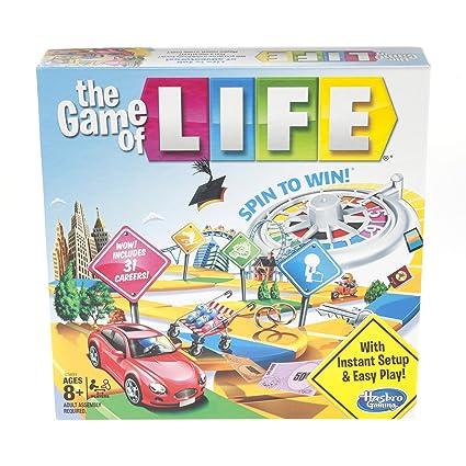Amazon.com: El juego de la vida juego de mesa Edades 8 y ...