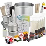 Candle Making Kit - Candle Kit For Making Candles - Candle Kit For Soy Candle Kit To Make Your Own Candles Set - Scented Cand