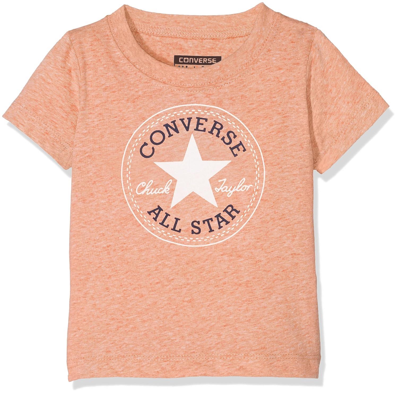 Converse Baby Boys' Chuck Snow Yarn Heather Tee T-Shirt 6-9 Months CNV6365S