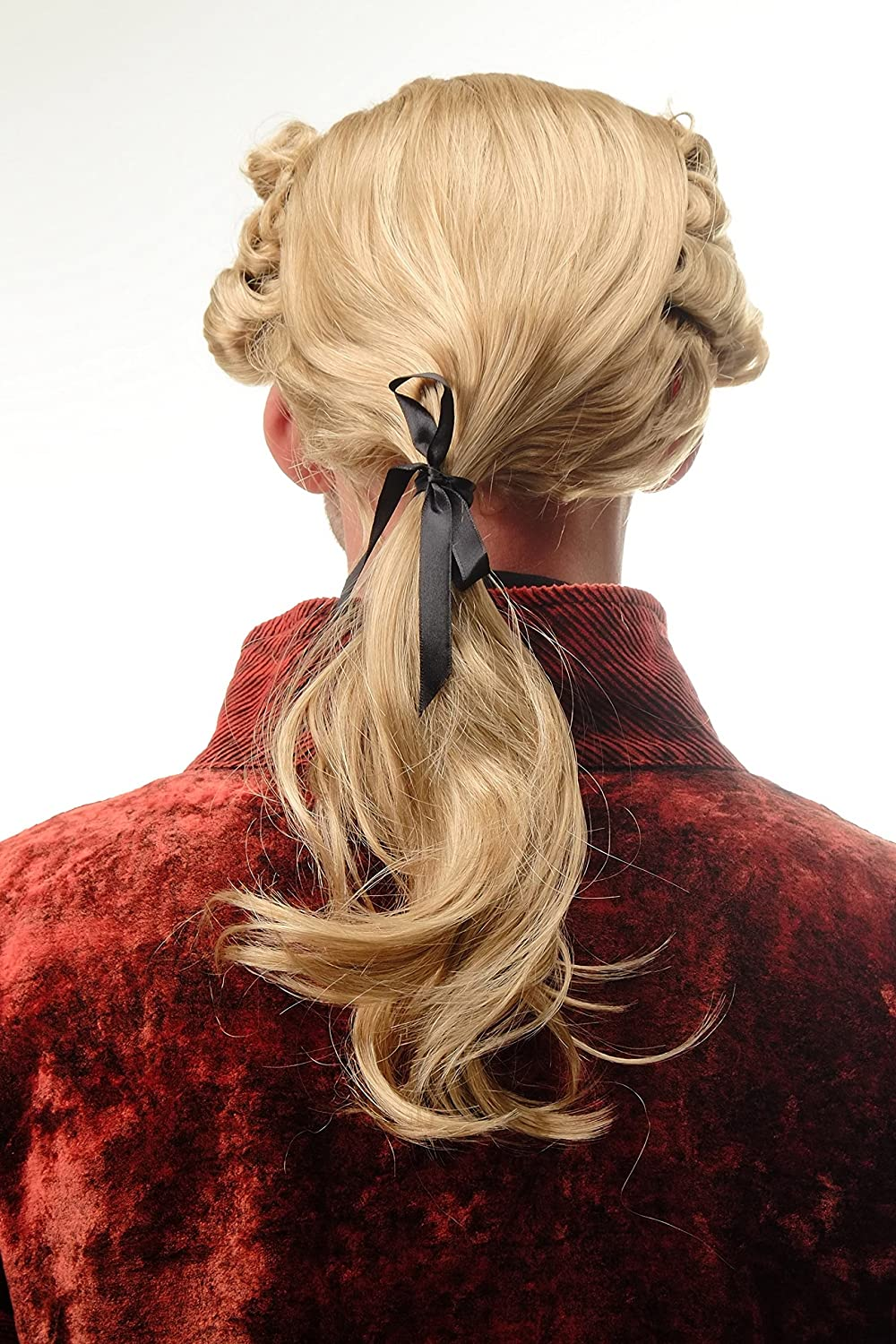 0061-P60 Party Parrucca Per Uomo Halloween Fancy Dress BAROCCO Curl Lord Wig ME UP ®