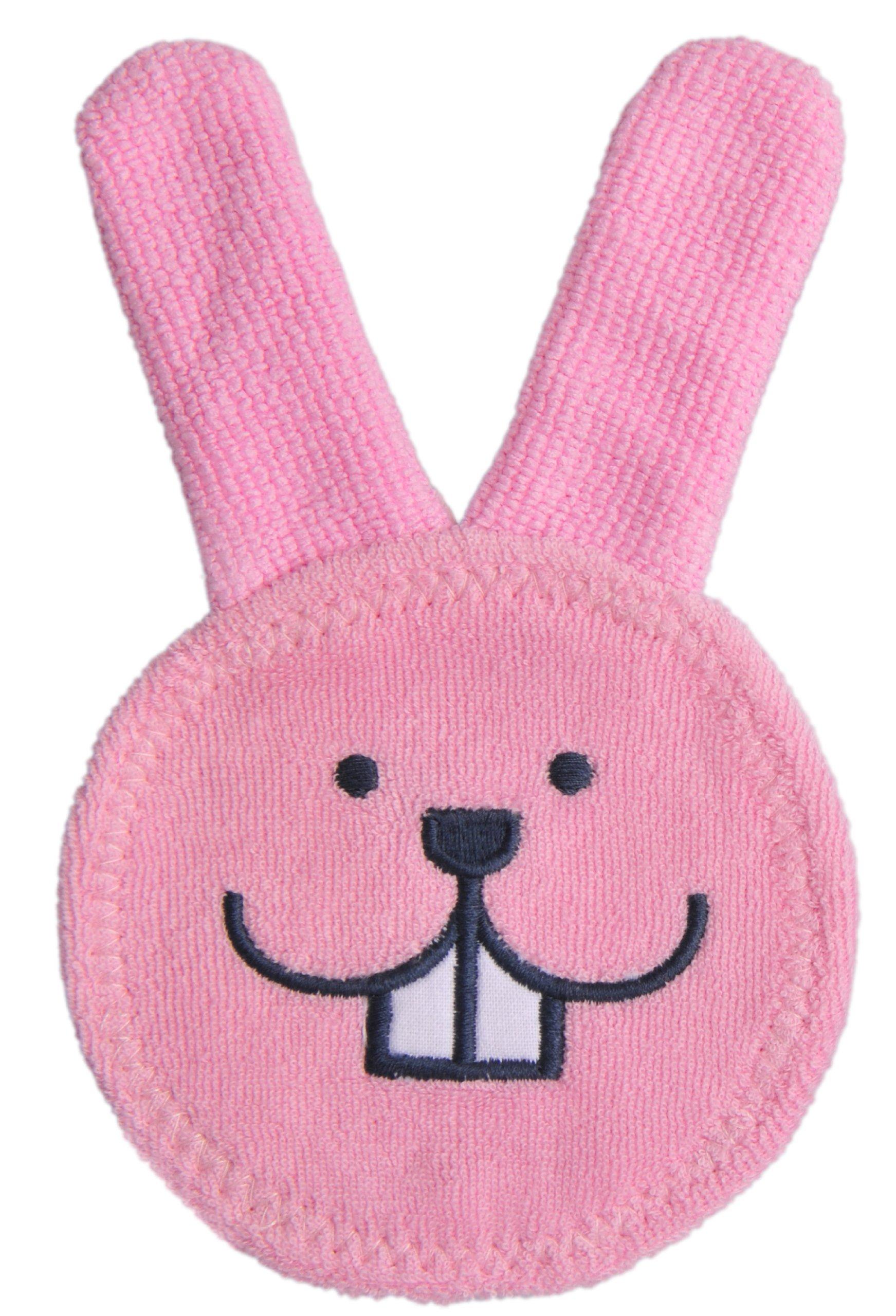MAM Oral Care Rabbit, Pink, 3 Plus Months