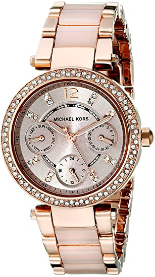 2cd1dfb9e2d1 Buy Michael Kors Analog Rose Gold Dial Women s Watch-MK6110 Online ...