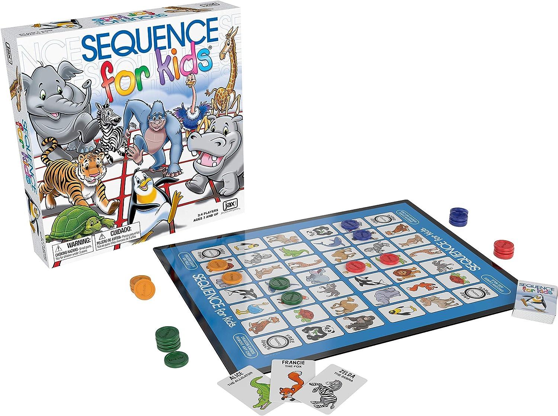 Secuencia para niños – El Juego de Estrategia No Requiere Lectura por Jax: Amazon.es: Juguetes y juegos